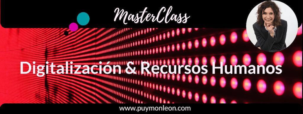 Masterclass GRATIS | Digitalización y Recursos Humanos